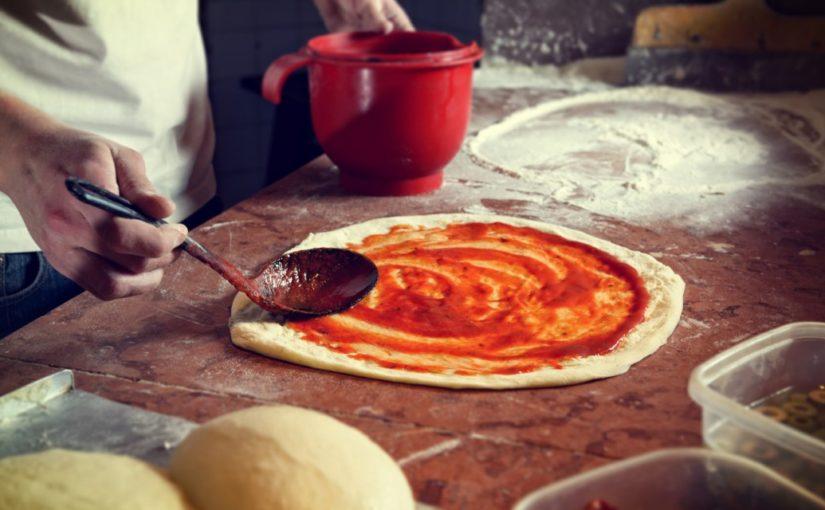 ciasto na mini pizze